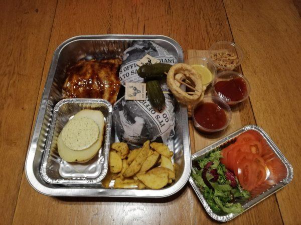 """"""" The Nacho, Burger & Sparerib menu """""""